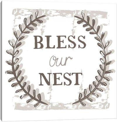 Home Farm - Bless our Nest Canvas Art Print