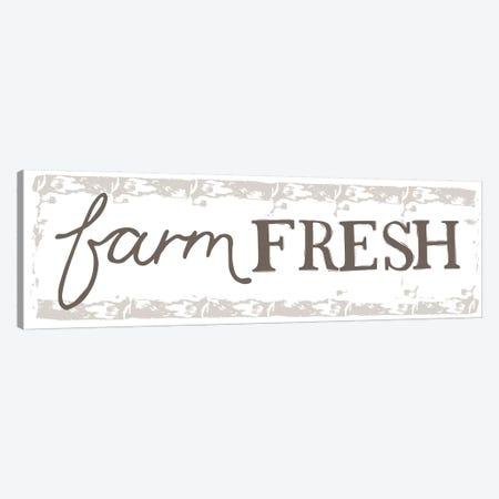 Home Farm - Farm Fresh Canvas Print #VYO35} by Vicky Yorke Canvas Art Print