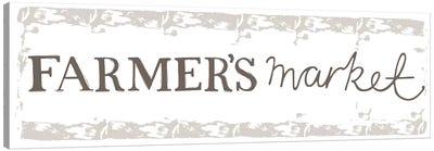 Home Farm - Farmer's Market Canvas Art Print