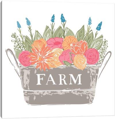 Home Farm - Flowers Canvas Art Print