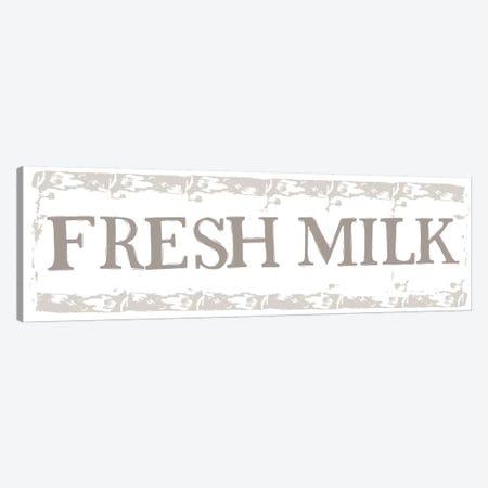 Home Farm - Fresh Milk Canvas Print #VYO41} by Vicky Yorke Canvas Art Print