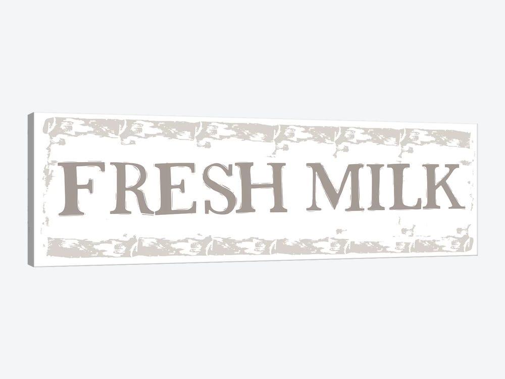Home Farm - Fresh Milk by Vicky Yorke 1-piece Art Print