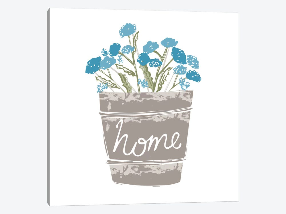 Home Farm - Home by Vicky Yorke 1-piece Canvas Wall Art