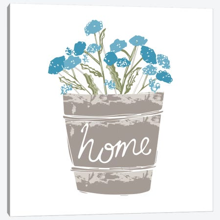 Home Farm - Home Canvas Print #VYO42} by Vicky Yorke Art Print