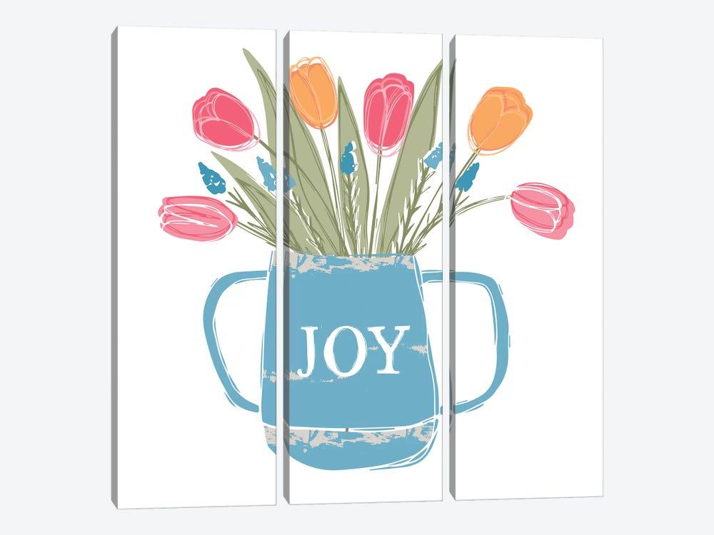 Home Farm - Joy by Vicky Yorke 3-piece Art Print