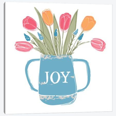 Home Farm - Joy Canvas Print #VYO43} by Vicky Yorke Art Print