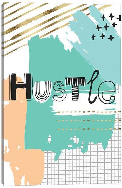 Hustle Canvas Art Print