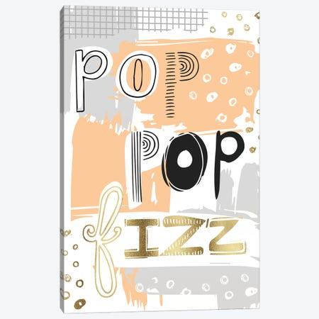 Pop Pop Fizz Canvas Print #VYO67} by Vicky Yorke Canvas Wall Art