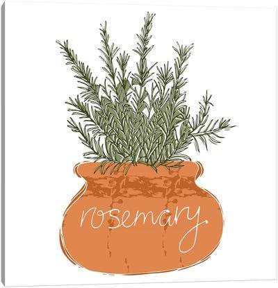 Rosemary Canvas Art Print
