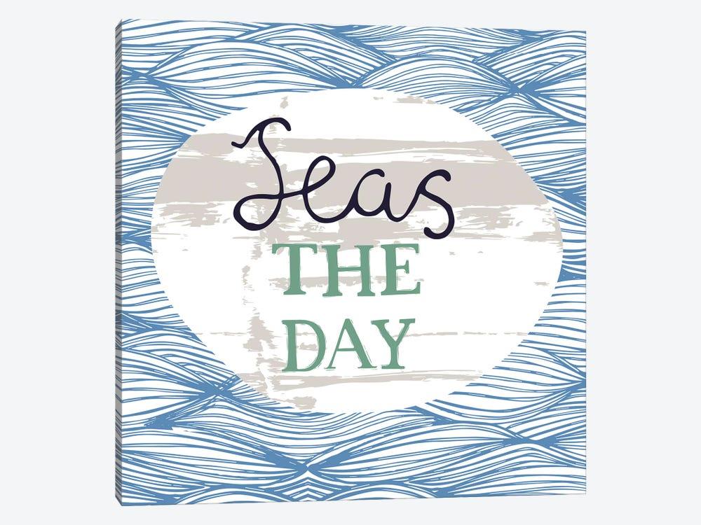 Seas The Day by Vicky Yorke 1-piece Canvas Art Print