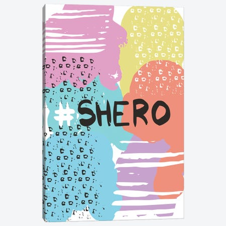 Shero Canvas Print #VYO70} by Vicky Yorke Canvas Art