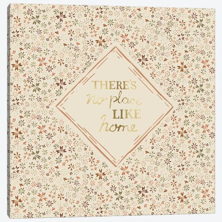 There's No Place Like Home Canvas Print #VYO77} by Vicky Yorke Canvas Art Print
