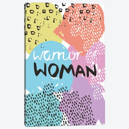 Warrior Woman Canvas Print #VYO82} by Vicky Yorke Canvas Print