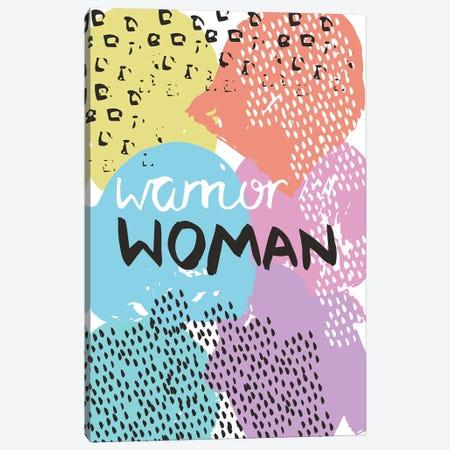 Warrior Woman Canvas Print #VYO82} by Vicky Yorke Canvas Print