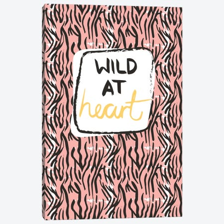 Wild At Heart Canvas Print #VYO84} by Vicky Yorke Canvas Wall Art