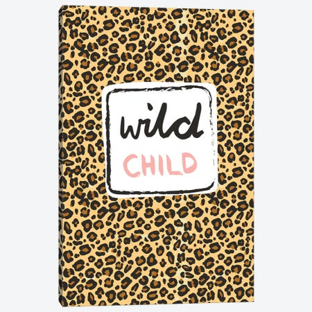 Wild Child Canvas Print #VYO85} by Vicky Yorke Canvas Wall Art