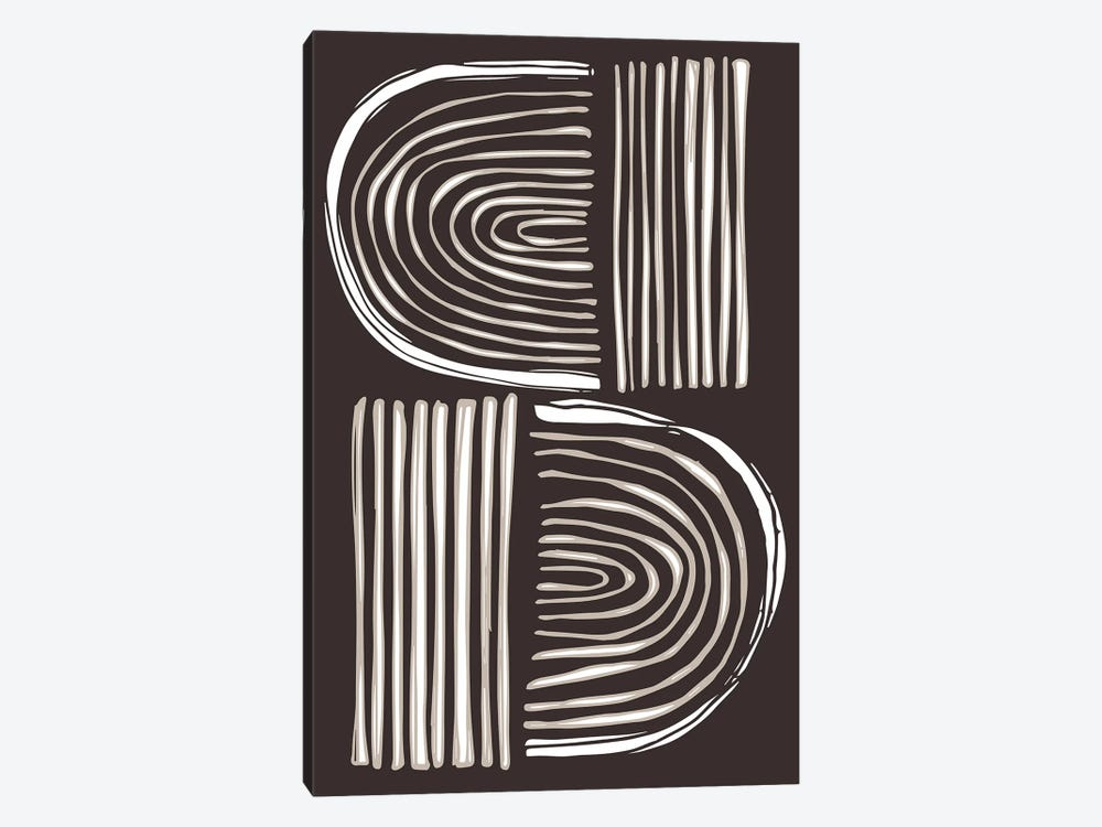 Abstact Shapes II by Vicky Yorke 1-piece Canvas Art