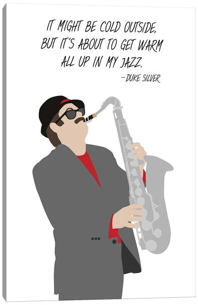 All Up In My Jazz - Parks And Rec Canvas Art Print