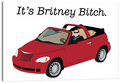 It's Britney Bitch - The Office Canvas Art Print