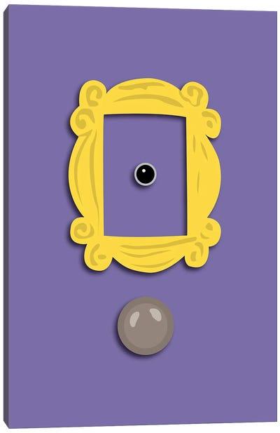 Monica's Door - Friends Canvas Art Print
