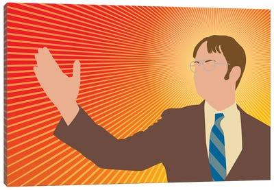 Dwight Schrute Portrait - The Office Canvas Art Print