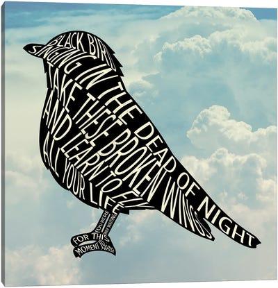 Blackbird - The Beatles Canvas Art Print