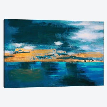 Night Sky Canvas Print #VZH10} by Vera Zhukova Art Print