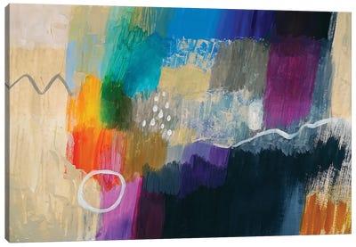 Colorful Composition Canvas Art Print