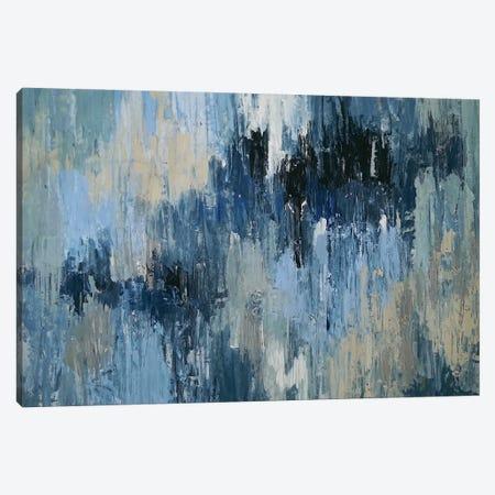 Depth Of Blue Canvas Print #VZH13} by Vera Zhukova Art Print