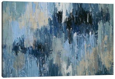 Depth Of Blue Canvas Art Print