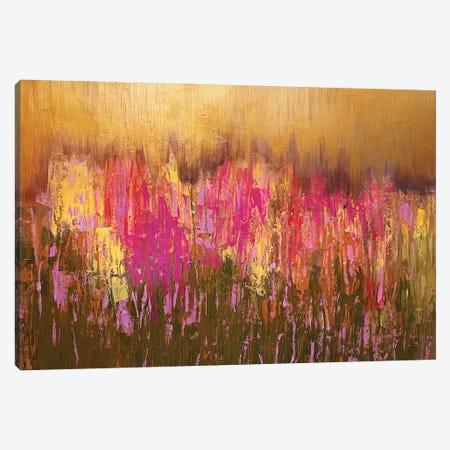 Sunset Field Canvas Print #VZH14} by Vera Zhukova Canvas Artwork