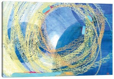 Blue Reflections Canvas Art Print