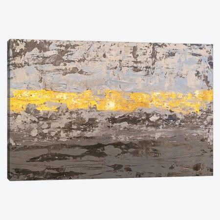 Gray Texture Canvas Print #VZH26} by Vera Zhukova Canvas Art Print