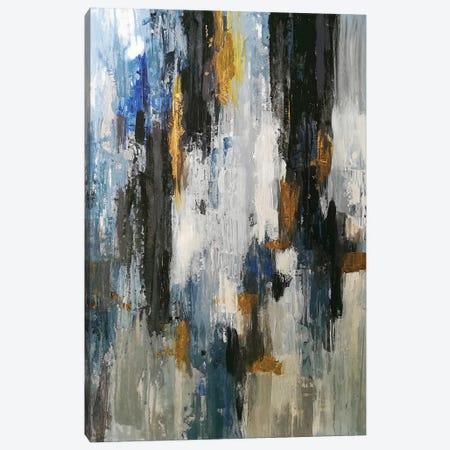 Gray Abstraction Canvas Print #VZH30} by Vera Zhukova Canvas Art Print