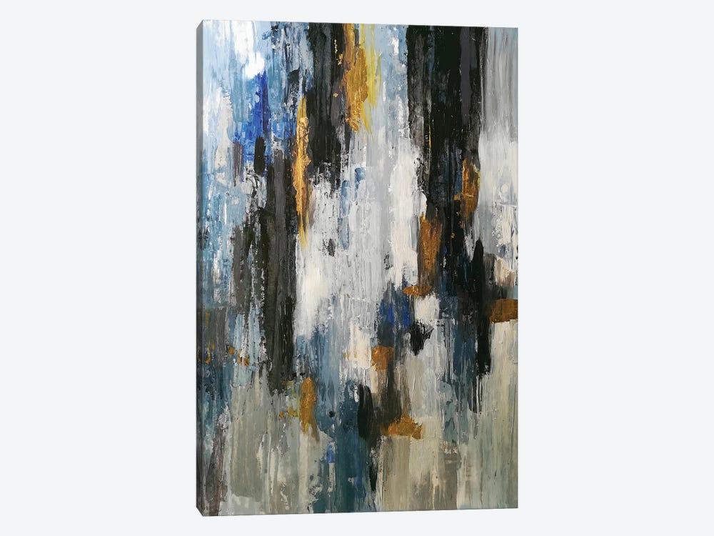 Gray Abstraction by Vera Zhukova 1-piece Canvas Wall Art