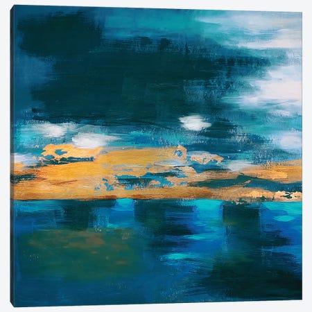 Night Sky Canvas Print #VZH33} by Vera Zhukova Art Print