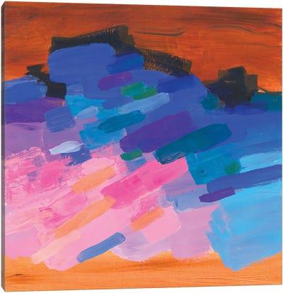 Colorful Sunset Fantasy Canvas Art Print
