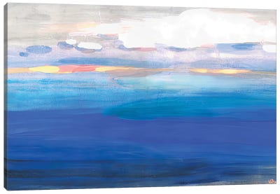 Over The Expanses Of The Lake Canvas Art Print