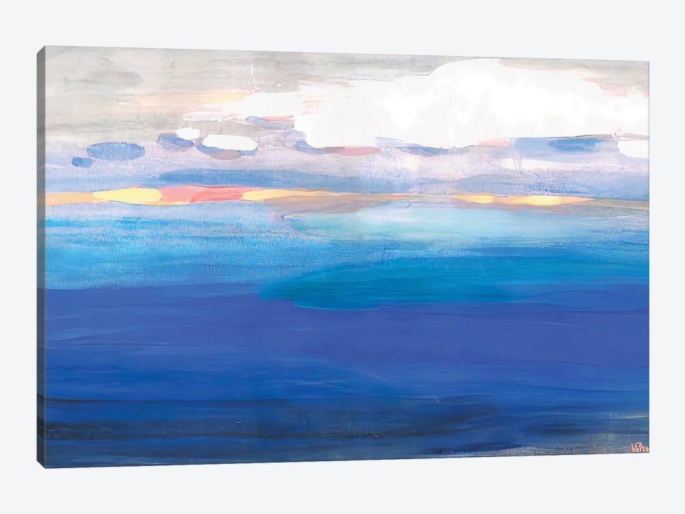 Over The Expanses Of The Lake by Vera Zhukova 1-piece Canvas Wall Art