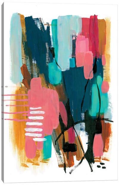 Color Interaction Canvas Art Print