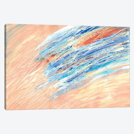 Coastal Water Canvas Print #VZH57} by Vera Zhukova Canvas Wall Art