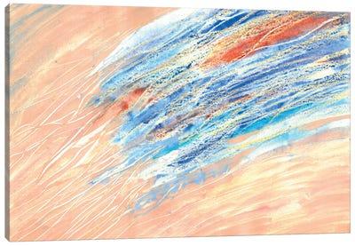 Coastal Water Canvas Art Print