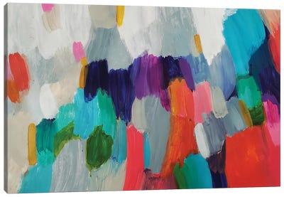 Colorful Moss Canvas Art Print