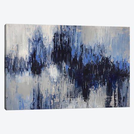 Rain Behind Glass Canvas Print #VZH68} by Vera Zhukova Canvas Artwork