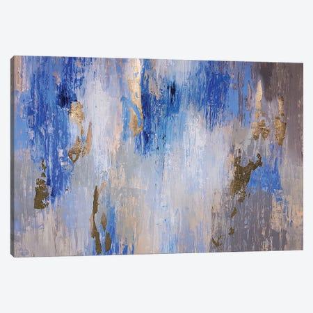 Blue Gray Art Canvas Print #VZH9} by Vera Zhukova Canvas Art