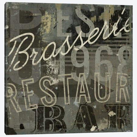 Restaurant Sign I  Canvas Print #WAC1009} by Michael Mullan Canvas Print
