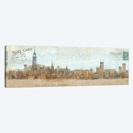 Cities III - New York Canvas Print #WAC100} by Avery Tillmon Art Print
