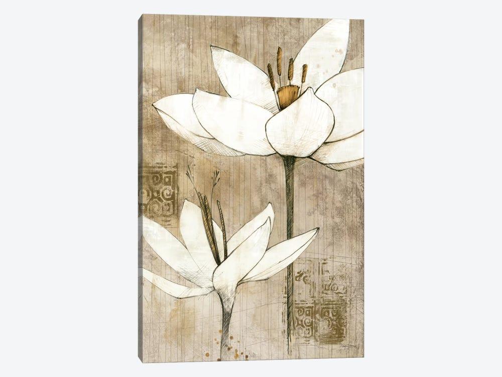 Pencil Floral I  by Avery Tillmon 1-piece Canvas Artwork