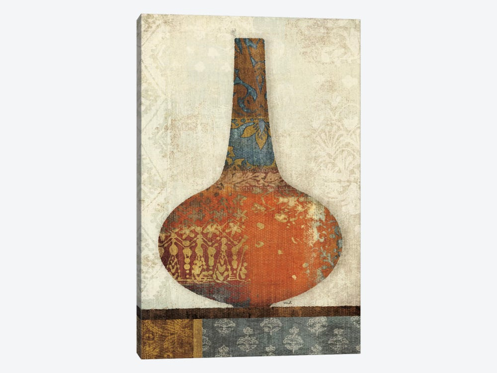 Indian Vessels I by Moira Hershey 1-piece Art Print