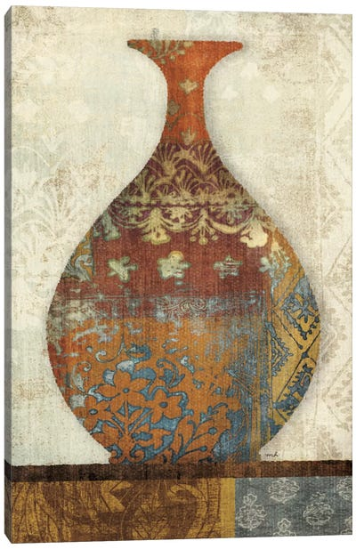 Indian Vessels II Canvas Print #WAC1022